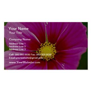 Flor, flores del primer tarjetas personales