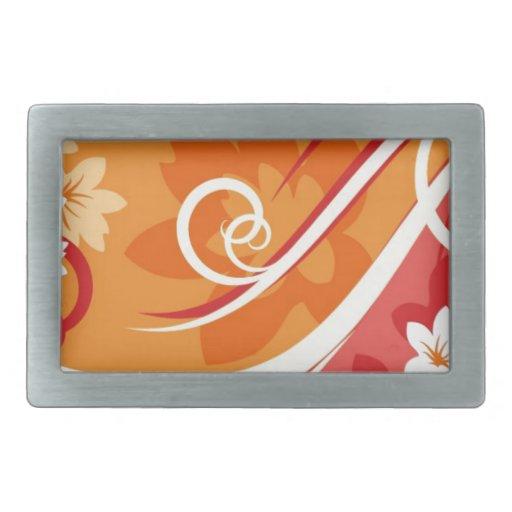 Flor-Fondo-Elemento-Para-Diseño-Vector-Illust Hebillas De Cinturon