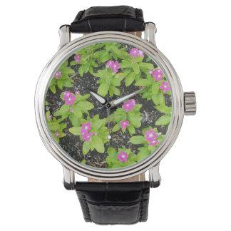 flor-fondo relojes de mano