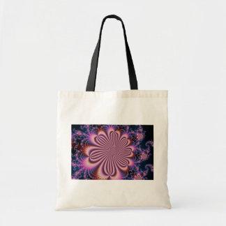 Flor - fractal bolsa tela barata