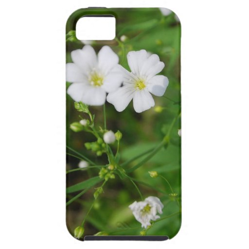 Flor frecuencia intermedia 125 iPhone 5 Case-Mate coberturas