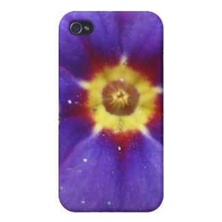 Flor frecuencia intermedia 195 iPhone 4 carcasa
