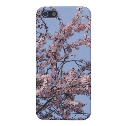 Flor frecuencia intermedia 222 iPhone 5 protectores