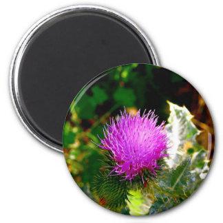 Flor frecuencia intermedia 414 imán para frigorifico