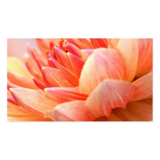 Flor frecuencia intermedia 473 tarjeta de visita