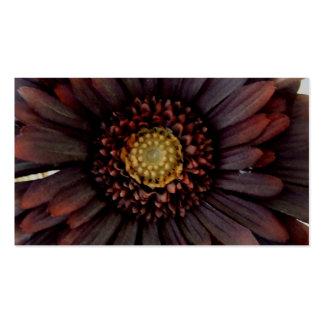 Flor frecuencia intermedia plantilla de tarjeta de negocio
