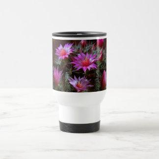 Flor fresca de los cactus del CACTUS: Demostración Tazas