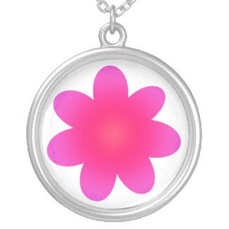 Flor fucsia joyeria personalizada