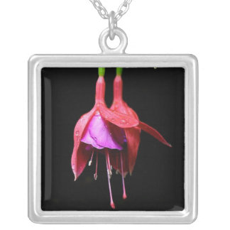 Flor fucsia rosada joyerias