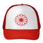 Flor geométrica gorra
