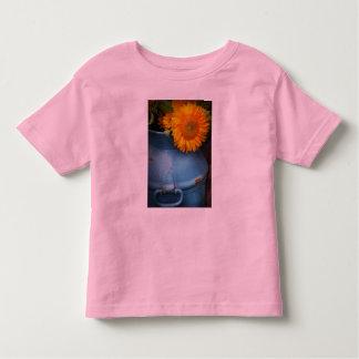 Flor - girasol - poca sol azul camisas