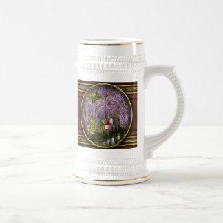 Flor - glicinia - una casa mis los propios tazas