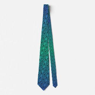Flor gráfica corbata
