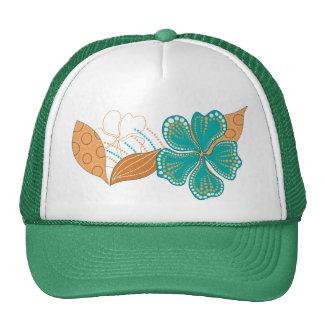 flor hawaiana gorras