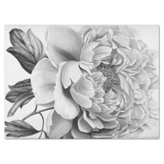 Flor hermosa de la dalia papel de seda grande
