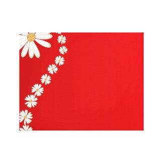 flor hermosa de la floración de la belleza del impresión en lona estirada