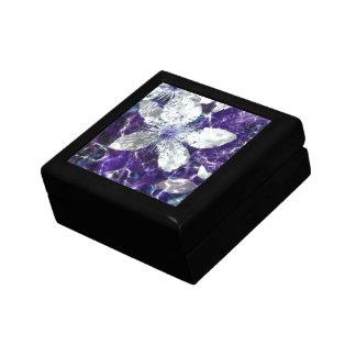 Flor hermosa del flor cajas de joyas