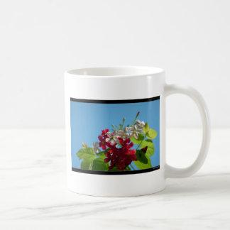 Flor hermosa en el mundo 02 taza de café