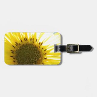 Flor hermosa en el Sun Etiquetas De Maletas
