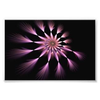 Flor I - Ampliación de la foto del arte del fracta