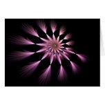 Flor I - Tarjeta del arte del fractal