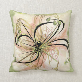 Flor imaginaria (almohada cuadrada de 20 pulgadas)