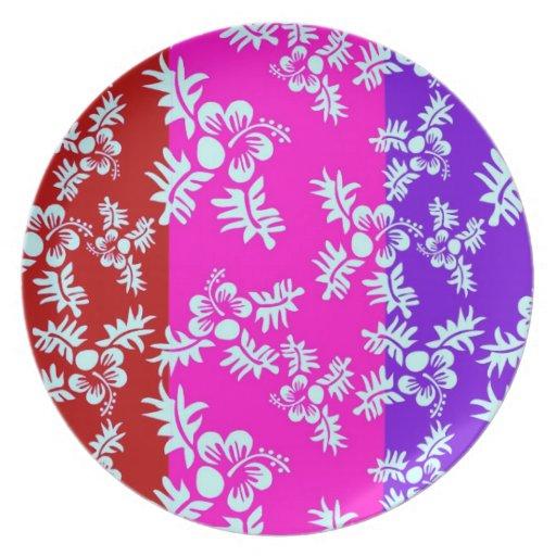 Flor inconsútil Pattern2 del vector libre Platos Para Fiestas