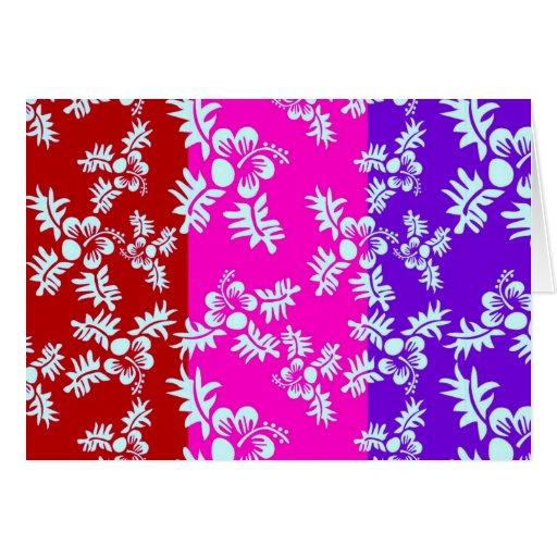 Flor inconsútil Pattern2 del vector libre Tarjeta De Felicitación