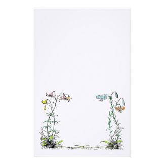 Flor inmóvil  papeleria