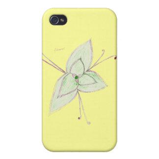 flor iPhone 4 funda