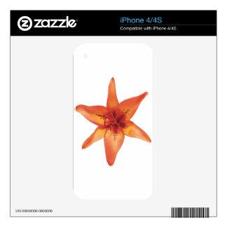 flor iPhone 4S decals