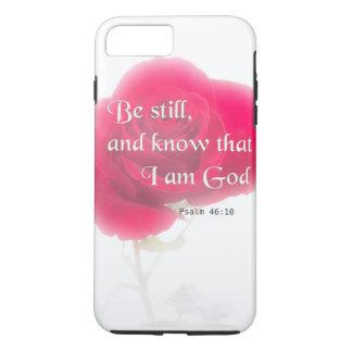 Flor Iphone, Ipad, Smar del 46:10 del salmo del Funda iPhone 7 Plus