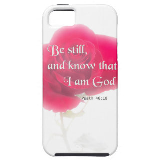 Flor Iphone, Ipad, Smar del 46:10 del salmo del Funda Para iPhone SE/5/5s