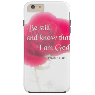 Flor Iphone, Ipad, Smar del 46:10 del salmo del Funda Resistente iPhone 6 Plus