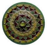 Flor irlandesa invitación 13,3 cm x 13,3cm