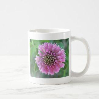 Flor irrepetible rosa taza de café