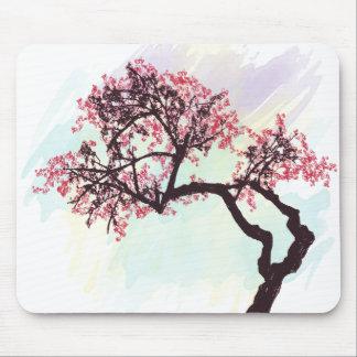Flor japonés Mousepad del cerezo