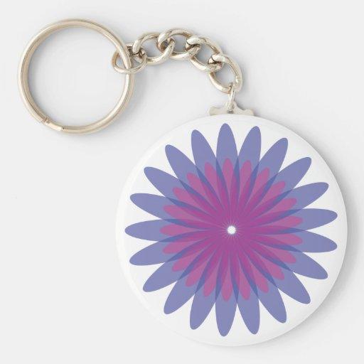 Flor Keyfob Llaveros Personalizados