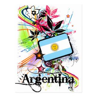 Flor la Argentina Postal