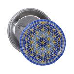 Flor la vida DE | BG pequeña blue radial Pins