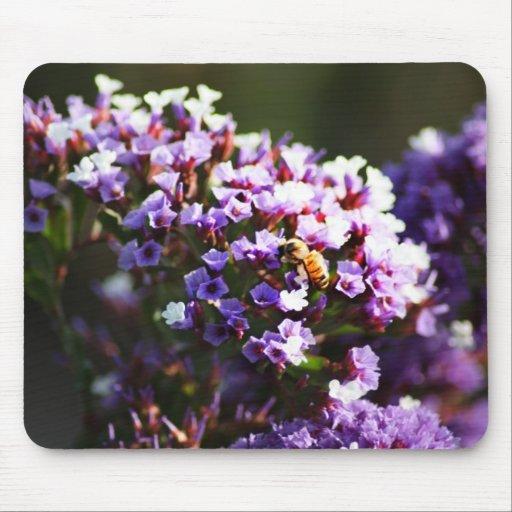 flor lavendar alfombrillas de raton