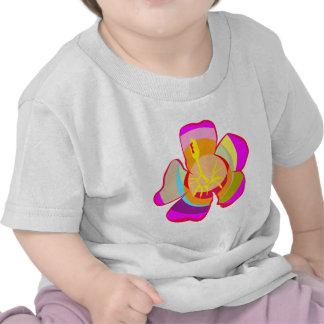 Flor LINDA de NOVINO uno Gráficos Camiseta