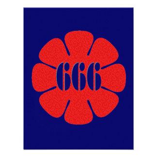 Flor linda del rojo 666 comunicado personal