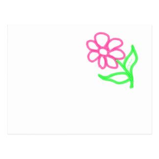 Flor linda postal