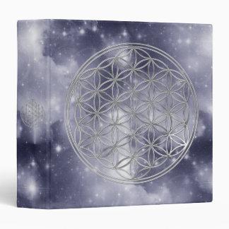 Flor Live/del universo azul marino de la plata el