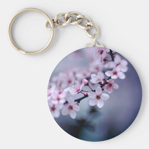 flor llavero redondo tipo pin