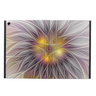 Flor luminosa, arte abstracto del fractal