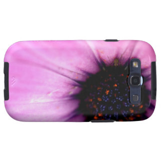 Flor macra del rosa de la foto con la caja de la g galaxy s3 carcasas
