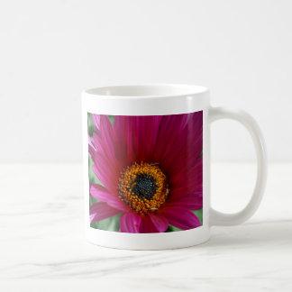 Flor magenta taza clásica