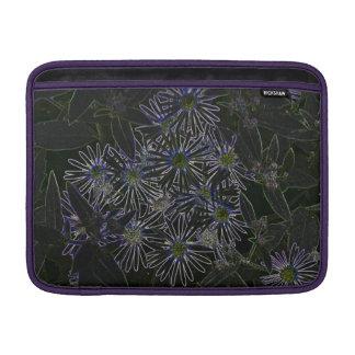 Flor mágica abstracta fundas MacBook